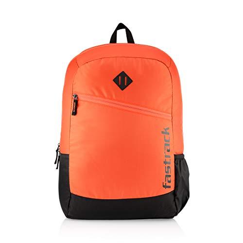 Fastrack 25 Ltrs Orange School Backpack (A0808NRD01)
