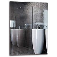 Espejo Standard - Espejo sin Marco - Dimensiones del Espejo 70x100 cm - Espejo de baño - Espejo de Pared - Baño - Sala de Estar - Cocina - Hall - M1ST-01-70x100 - ARTTOR