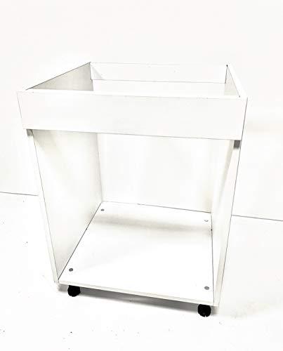 Calandrelli Alfredo Mobile Base Forno da 60 cm, di Colore Bianco con Le Seguenti Misure: l=60, h72, P=55 cm spedizione in Kit, con pattina