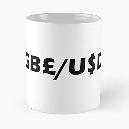 GBP/Usd – La tazza Tient La Main 11 Oz, 15 oz in marmo bianco stampato in ceramica, design di tendenza Que je personalizzalise