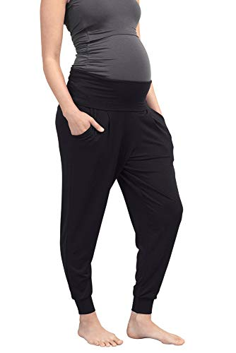 Boob Design Once-On-Never-Off - Pantalones de Maternidad - Negro - XXL