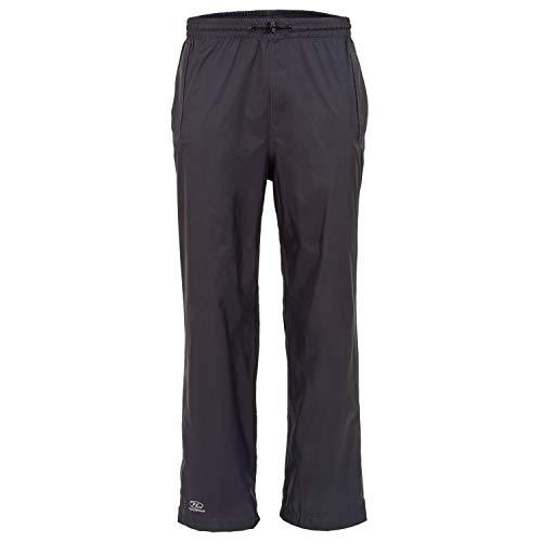 HIGHLANDER Pantalon imperméable compactable Surpantalon de Pluie avec des Tailles adaptées aux Hommes et Femmes - Tissu imperméable léger et ventilé : Le Stow & Go, XX-Large