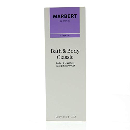 Marbert Bath & Body Classic bad- en douchegel, per stuk verpakt (1 x 200 ml)