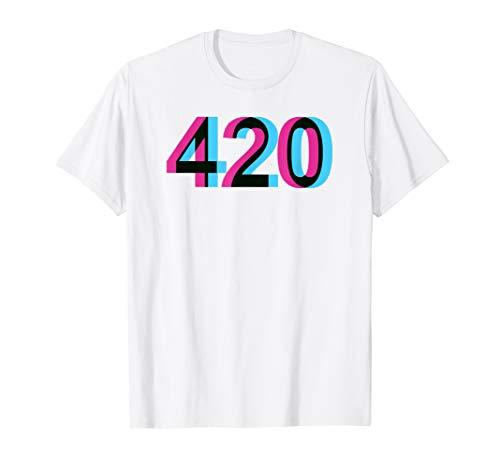 420 I Kiffer Stoner Chiller Weed Gras Cannabis Marijuana T-Shirt