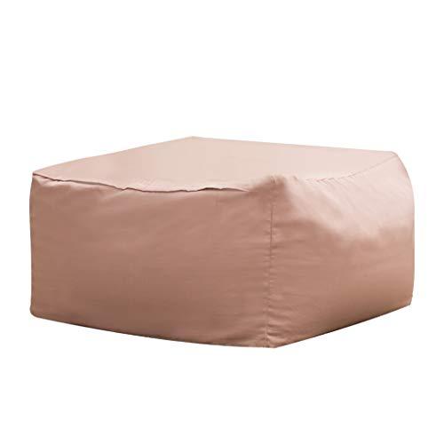 Canapés Ameublement et décoration/Meubles/Bureau/Ch Paresseux Pouf Rose Tatami pour Adulte Pouf Simple en Tissu Chambre Pouf Vert Amovible Et Lavable (Color : Pink, Size : 65cm*43cm)