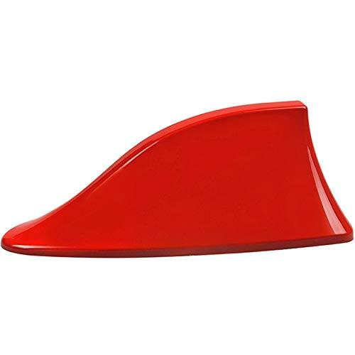 Car Señal Antenas De Aleta De Tiburón Antena/Fit For - Citroen/Fit For - Picasso / C1 C2 C3 C4 C5 C4L DS3 DS4 DS5 DS6 Elysee C-Quatre C-Triomphe Antena aérea del Coche (Color : Red)