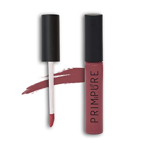 Prim and Pure Natural Lip Gloss for Women   Made with Organic and All Natural Ingredients   Non-Toxic & Cruelty Free   Highly Pigmented, Hydrating, and Moisturizing Formula   Made in USA (Paprika)
