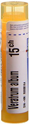 Veratrum Album 15CH/15C, 4G, Homeopthic Médecine, Multi Dose Tube par Boiron–Canada