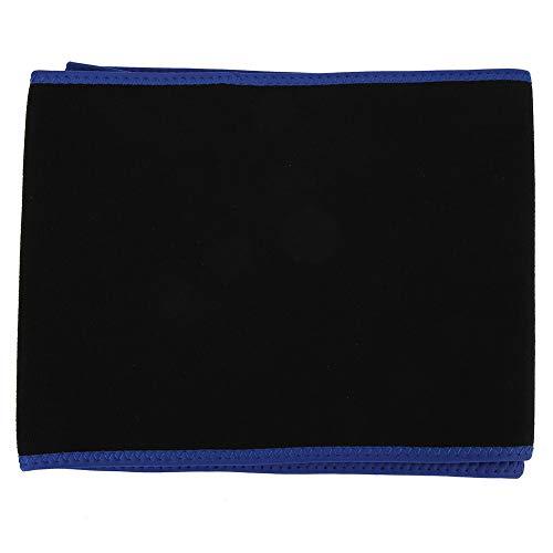 Rosilesi 1 * Bauchgurt - Unisex Schweißgürtel Bauchband Schweiß Taille Form Trimmer Korsett Sportgürtel Bauch(Blaue L-Codenummer)