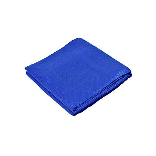 Red de sombra para velas, mosquitera de malla para el sol, rectangular, protección UV, resistente a la intemperie, color azul (tamaño: 6 m x 8 m)
