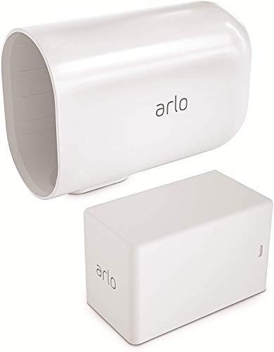 Arlo Accessoire Arlo Pro 3 et Arlo Ultra   Batterie additionnelle et sa housse blanche VMA5410-10000S
