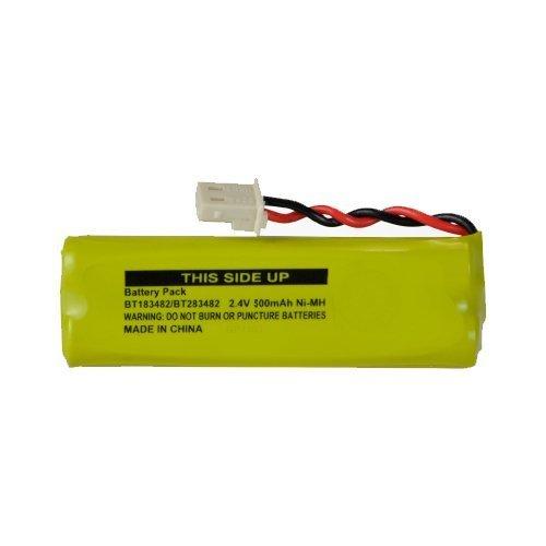Vtech LS6425-3 Cordless Phone Battery Ni-MH, 2.4 Volt, 500 mAh - Ultra Hi-Capacity - Replacement for VTECH 89-1348-01-00, BT183482/BT283482 Rechargeable Battery
