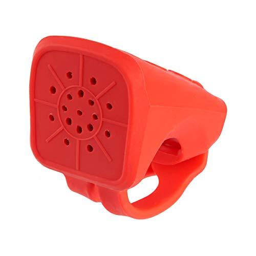Micro Accessoire Trottinette Avertisseur sonore 4 Sons Rouge