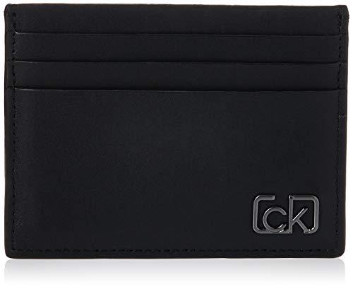 Calvin Klein Herren Ck Cast Cardholder Geldbörse, Schwarz (Black), 0.1x0.1x0.1 Centimeters