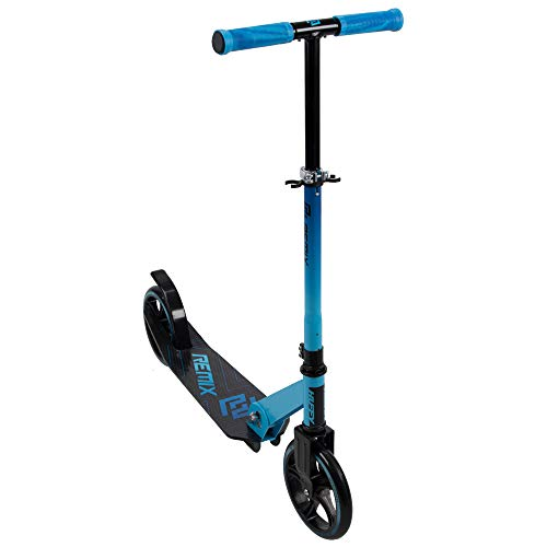 Huffy Remix Folding Inline Scooter, Boys Blue 200MM