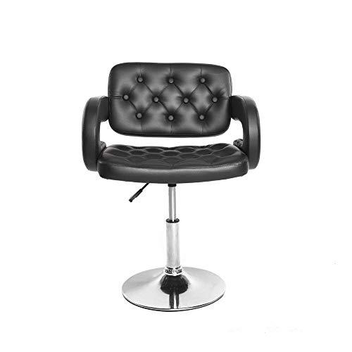 LMCLJJ Sedia da Ufficio Sedia da scrivania Flash Furniture Sedia Girevole Vibrante e cromata con Sedile per Trattore