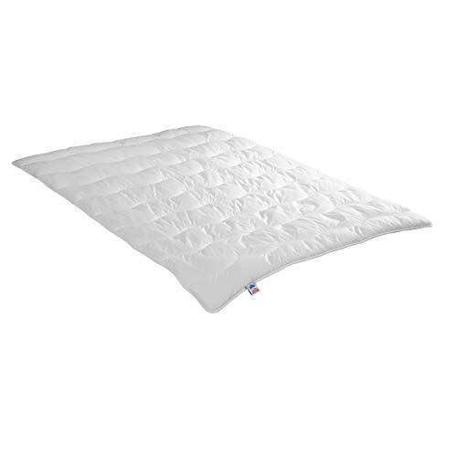 Irisette leichte Sommerdecke Steppbett Jette, 95 Grad waschbar, inkl. Aufbewahrungstasche, 155 x 220 cm, weiß