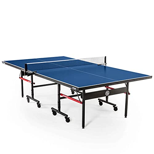 STIGA Advantage Competition-Ready Indoor Table Tennis Tables 95% Preassembled...