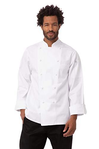 100 cotton chef coat men - 3