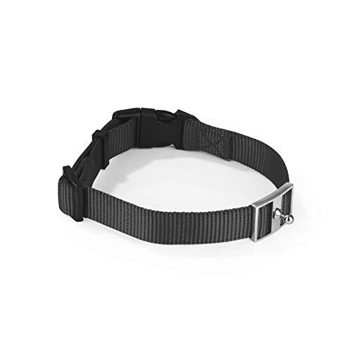 GOLEYGO Hundeleine & Halsband, schwarz, Größe S (29-43 cm Halsumfang) | innovatives Magnet-klick-System mit Kugelstift, unter Vollast lösbar | für Hunde bis max. 40 kg | Leinenlänge 120-200 cm - 4
