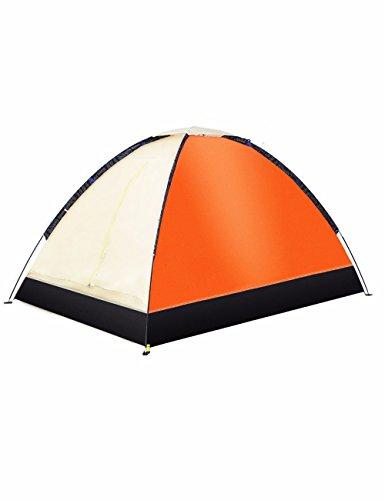 SJQKA-tente l'extérieur, 2 personne imperméables, double, le camping couple, lumière beach, intérieur tente pour enfants,orange