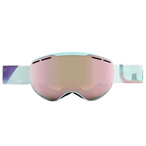 FSJKZX Gafas De Esquí Protección De Esquí Anti-Niebla Puede Usar Gafas De Miopía Gafas De Nieve para Adultos Y Jóvenes Equipo Deportivo Al Aire Libre (Color : A, Size : L)