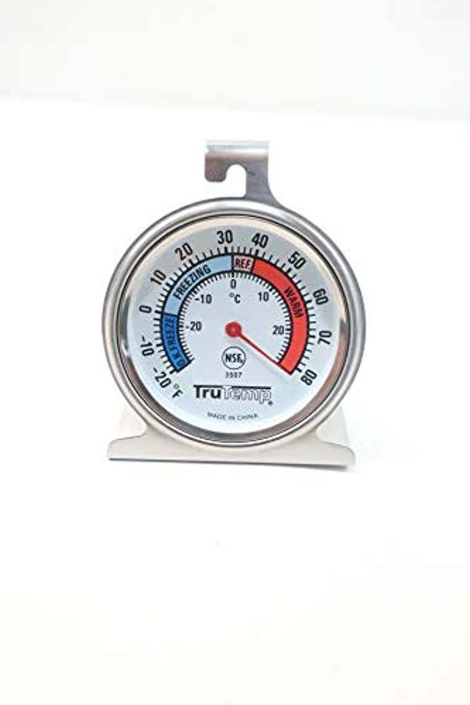 TAYLOR 3507 TRUTEMP Freezer-Refrigerator Thermometer -20-0-80F D633940