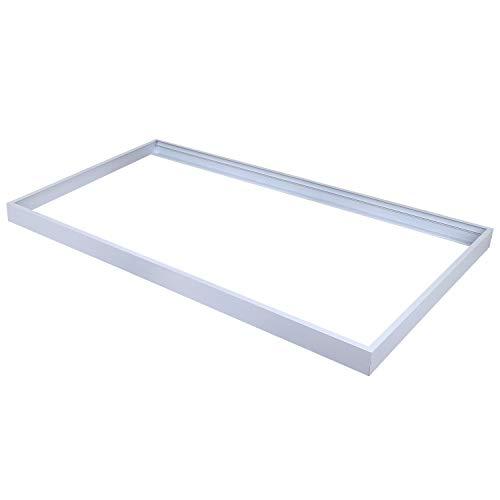 2x4FT Surface Mount Kit, Allsmartlife Ceiling Frame Kit for 2x4FT LED Panel Light/Drop Ceiling Light Aluminum 1-Pack