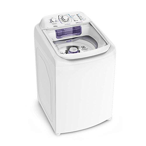 Máquina de Lavar 12kg Electrolux Turbo Economia, Silenciosa com Cesto Inox e Jet&Clean (LAC12) 220V