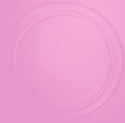 Mikrowellenteller / Drehteller / Glasteller für Mikrowelle # ersetzt Premiere Mikrowellenteller # Durchmesser Ø 36 cm / 360 mm # Ersatzteller # Ersatzteil für die Mikrowelle # Ersatz-Drehteller # OHNE Drehring # OHNE Drehkreuz # OHNE Mitnehmer