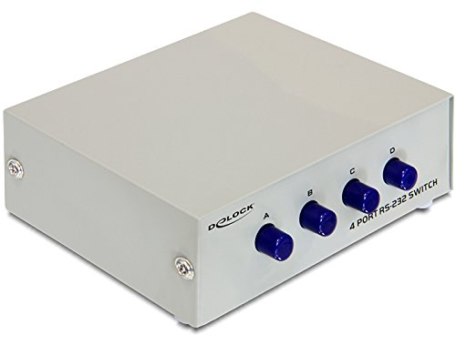 DeLock Seriell Umschalter RS-232/ RS-422/ RS-485 4-Port manuell