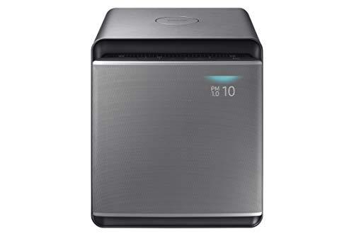 Samsung AX47R9080SS Purificatore d'Aria Cube con Copertura di 47 m2, Nero