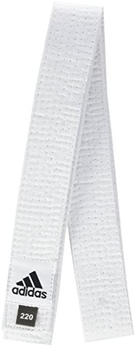 adidas Club ADIB220D - Cintura in Cotone piqué, Bianco (Bianco), 240 cm