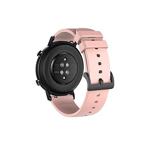LXF JIAJU Banda de Reloj de Silicona de 20 mm para Huawei Watch GT2 42mm Soft Sport Correa para Samsung Galaxy 42mm Active2 Gear S2 Pulsera de Banda de Reloj (Color : 2)