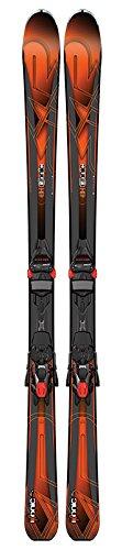 K2 Skis Herren Ski Set IKONIC 80 mit Bindung M3 12 TCX Light, Black/Orange, 156 cm