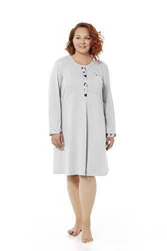 Mabel Intima Camisón Talla Grande Camisón Mujer Manga Larga. Tallas Grandes. Varios Modelos y Estampados