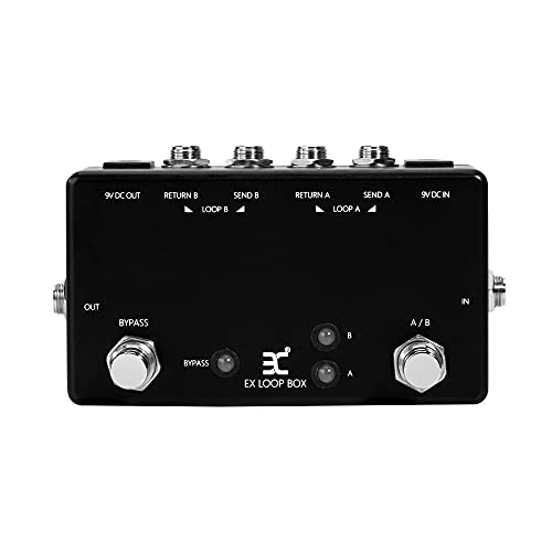 EX Guitar Effects Pedal Switcher Loop Box