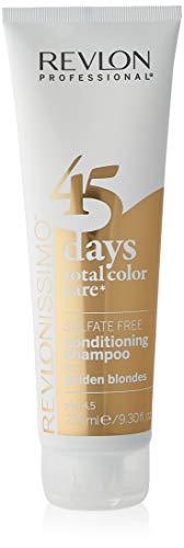 REVLON PROFESSIONAL 45 Days Conditioning Shampoo, Golden Blondes ,1er Pack (1 x 275 ml)