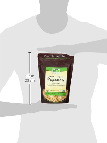 Product Image 4: Now Foods Organic Popcorn, 24 Ounce (Pack of 2)