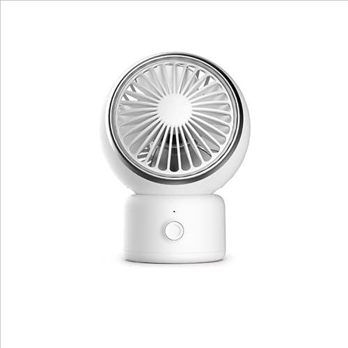 FACAI Ventilador de Mano Portátil Pequeño Ventilador Doméstico Silencioso Ventilador USB Ventilador de Escritorio,B