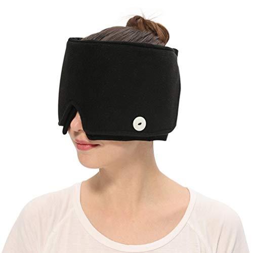 AROMA SEASON® | Cap / Maske zur Kühlung / Behandlung von Migräne Kopfschmerzen Schwellungen | Kältetherapie | Kühlmaske / Kühlpads / Coolpads / kühles Kopfkissen / Augenmaske