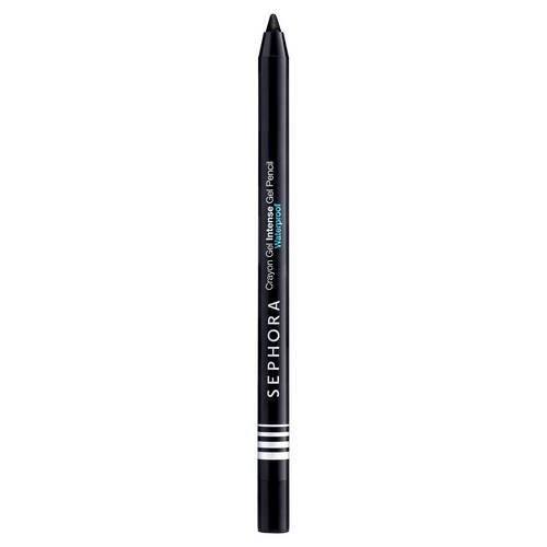 Sephora Crayon Gel Intense Waterproof Gel Pencil 01 Ultra Black, Eyeliner Effekt