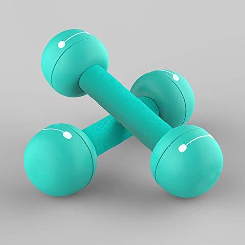 Mancuernas Pesas Las mujeres conjunto extraíble pesas con mancuernas yoga Pequeño Hogar ejercicio de la pérdida del brazo pesas señoras de aparatos de ejercicios con mancuernas de fitness Peso 2 kg /