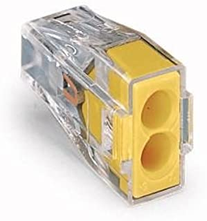 Wago 773 Push-wire connectors for junction boxes, 2 Connectors 773-162 (10 PK)