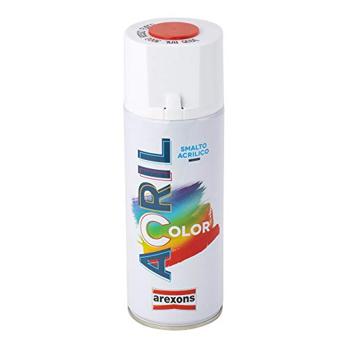 Arexons RXS009 3935 Acrilcolor RAL 3000, Rosso Fuoco, 400 ml