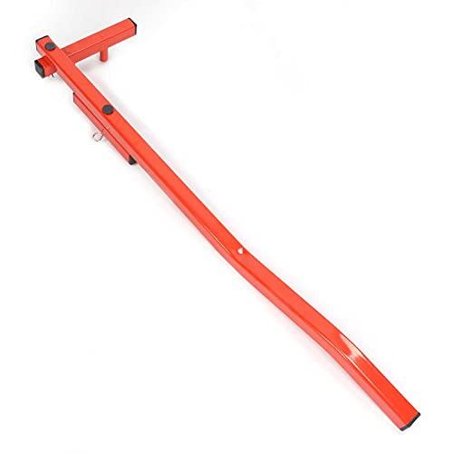 Enderezadora de plataforma, plancha para enderezamiento de plataforma Resistente al desgaste Brazo en forma de U fácil de instalar y desmontar para valla de plataforma y madera