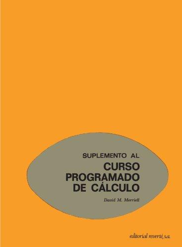 Curso Programado De Cálculo.Suplemento (Curso programado de Cálculo C.E.M.)