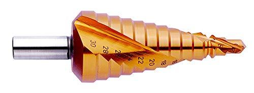 Exact 7013 Punta a gradini, Ø 4-12/4-20/6-30 mm, Pasta a Spirale, Hss, Rotastop, Ø 4-12/4-20/6-30mm, Spiralnute