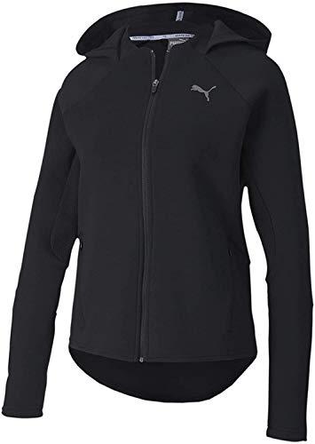 PUMA Damen Pullover Evostripe FZ Hoody, Black, L, 581245