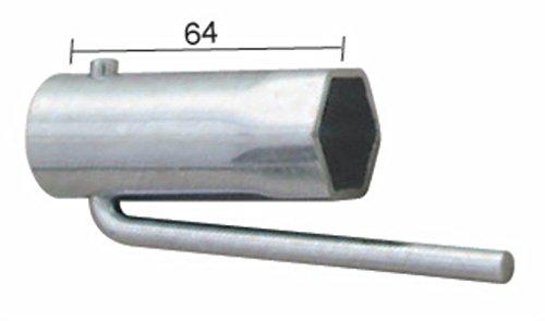 Clé bougie d'allumage cyclomoteur pliable Hex 21mm